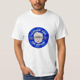 ベルニーの研摩機の2016年のTシャツ。 Yearnin Tシャツ