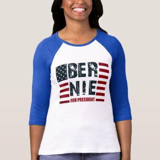 ベルニーの研摩機米国の旗 Tシャツ