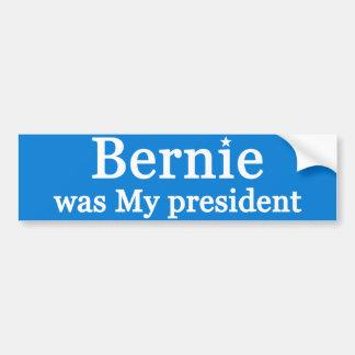 ベルニーは私の大統領でした バンパーステッカー