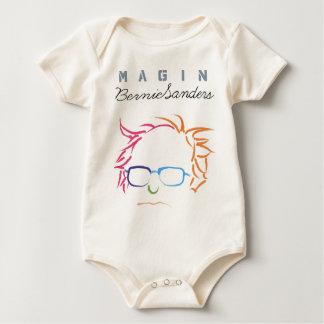 ベルニーはTシャツを想像します ベビーボディスーツ