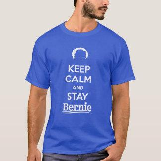 ベルニー穏やか、滞在保って下さい Tシャツ