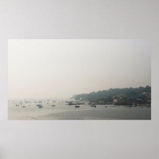 ベルファスト、メインの港 ポスター