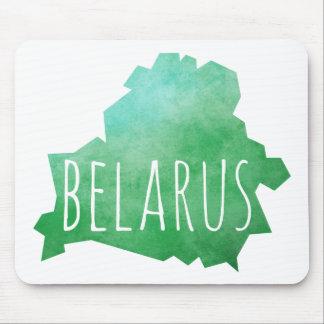 ベルラーシの地図 マウスパッド