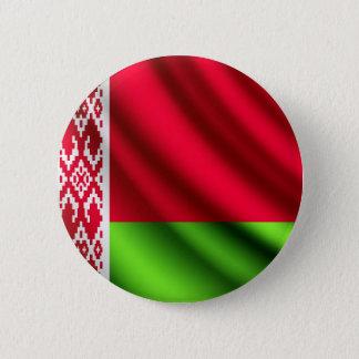 ベルラーシの振る旗のpinbackボタン 5.7cm 丸型バッジ