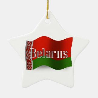 ベルラーシの振る旗 セラミックオーナメント