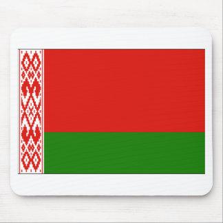 ベルラーシの旗 マウスパッド