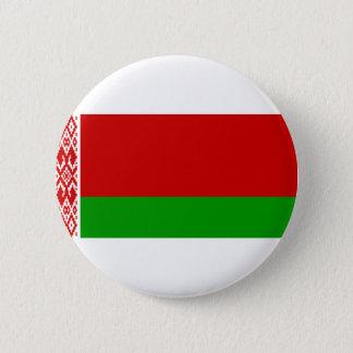ベルラーシの旗 5.7CM 丸型バッジ
