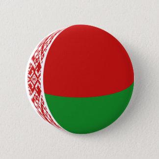 ベルラーシFisheyeの旗ボタン 5.7cm 丸型バッジ