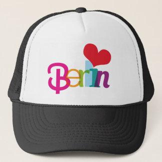 ベルリンからのかわいい記念品の帽子 キャップ