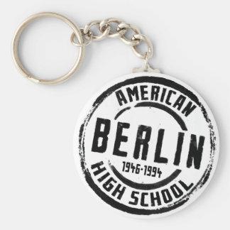 ベルリンのアメリカの高等学校のスタンプA004 キーホルダー