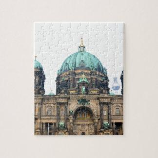 ベルリンのカテドラル(ベルリンの住民Dom)のヴィンテージの眺め ジグソーパズル