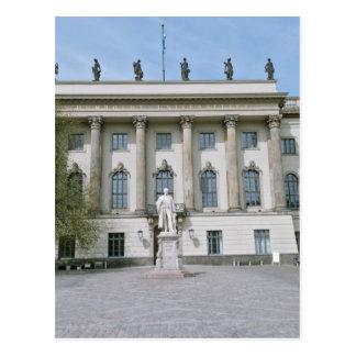 ベルリンのフンボルト大学 ポストカード