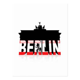ベルリンのブランデンブルク門 ポストカード