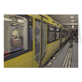 ベルリンの地下鉄 カード
