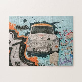 ベルリンの壁の片 ジグソーパズル