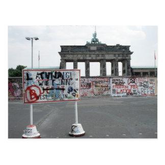 ベルリンの壁 ポストカード