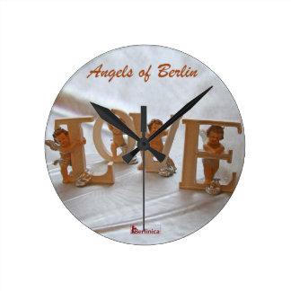 ベルリンの天使-欲求の翼 ラウンド壁時計