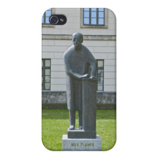 ベルリンの最高のPlanckの彫像 iPhone 4 ケース