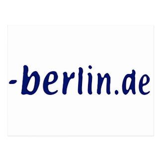 ベルリンの範囲- berlin.de ポストカード