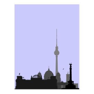 ベルリンの都市景観 ポストカード