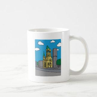 ベルリンのKaiserウィルヘルムの記念教会 コーヒーマグカップ