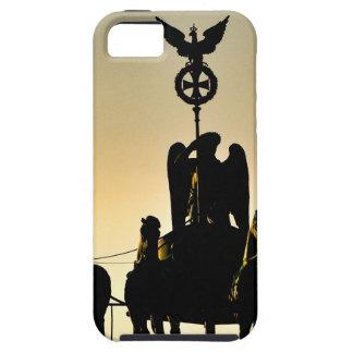 ベルリンのQuadriga 002.11.2のブランデンブルク門 iPhone SE/5/5s ケース