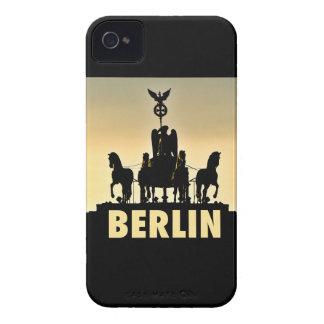 ベルリンのQuadriga 002.6のブランデンブルク門 Case-Mate iPhone 4 ケース