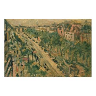 ベルリンのUnterの洞穴Linden 1922年 ウッドウォールアート
