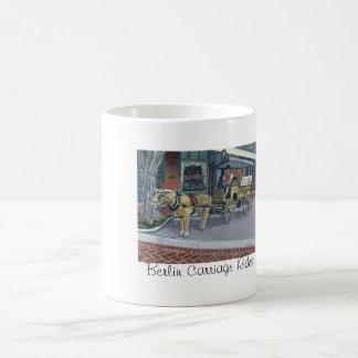 ベルリンキャリッジ乗車 コーヒーマグカップ