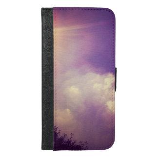 ベルリン上の雲 iPhone 6/6S PLUS ウォレットケース