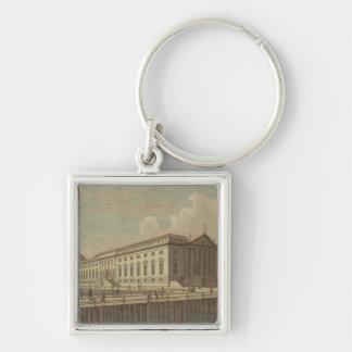 ベルリン1773年のオペラハウスの眺め キーホルダー