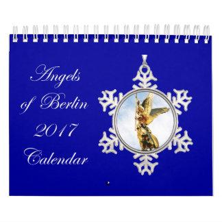 ベルリン2017のカレンダーの天使 カレンダー
