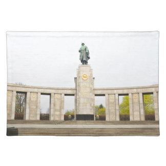 ベルリン、ドイツのソビエト戦争記念物 ランチョンマット
