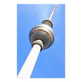 ベルリン、ドイツのテレビタワー(Fernsehturm) 便箋