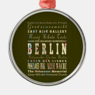 ベルリン、ドイツの魅力及び有名な場所 メタルオーナメント