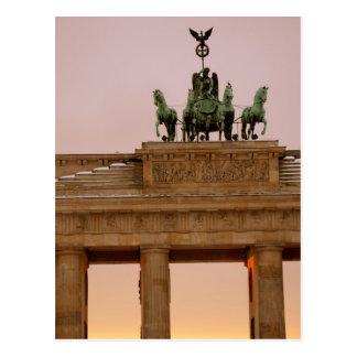 ベルリン、ドイツ-ブランデンブルクの岩山 ポストカード