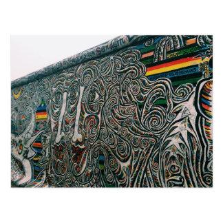 ベルリン: 壁および顔 ポストカード