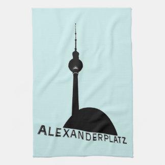 ベルリンAlexanderplatz キッチンタオル