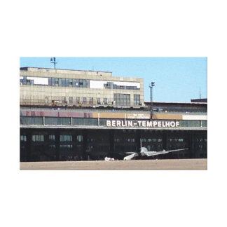 ベルリンTempelhof空港 キャンバスプリント
