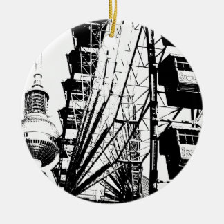 ベルリンTVタワー、アレックスとのFerris Wheel_01.01_G セラミックオーナメント