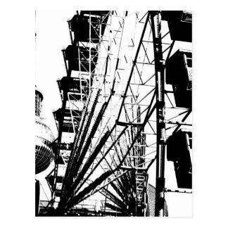 ベルリンTVタワー、アレックスとのFerris Wheel_01.01_G ポストカード