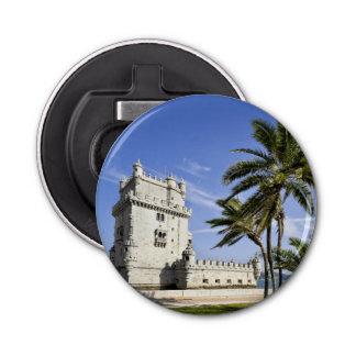 ベレンタワー、リスボン、ポルトガル ボタン型 栓抜き