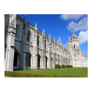 ベレン、リスボン、ポルトガルのJeronimos修道院 ポストカード