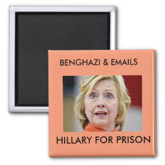 ベンガジは刑務所のためのヒラリーに電子メールを送ります マグネット