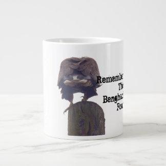 ベンガジ4を覚えて下さい ジャンボコーヒーマグカップ