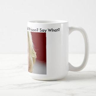ベンガジVinceの養育関係の電子メールのヒラリー・クリントンの刑務所 コーヒーマグカップ