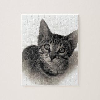 ベンガルのかわいい子ネコ ジグソーパズル