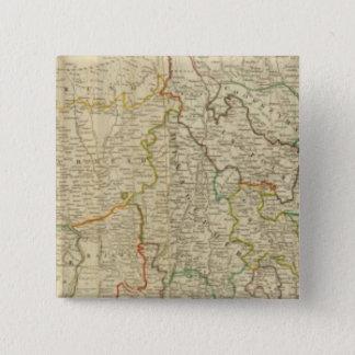 ベンガルの北Baharの&c 5.1cm 正方形バッジ