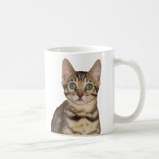 ベンガルの子ネコのマグ コーヒーマグカップ