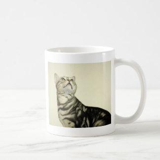 ベンガル大理石の猫 コーヒーマグカップ